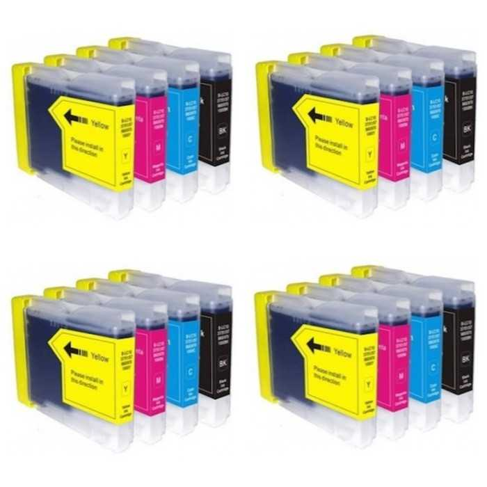 Pack 16 Cartuchos Compatibles Brother LC-970 / LC-1000
