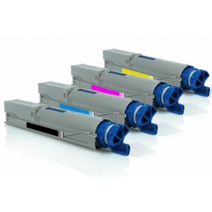Pack 4 Toner Compatible Oki C3300