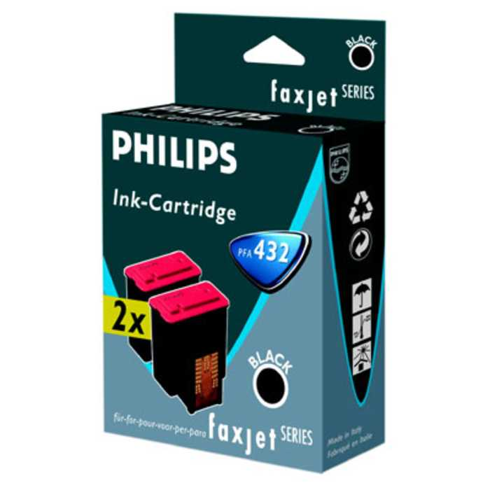 Pack 2 Cartuchos Tinta Original Philips PFA-432 / 906115308029