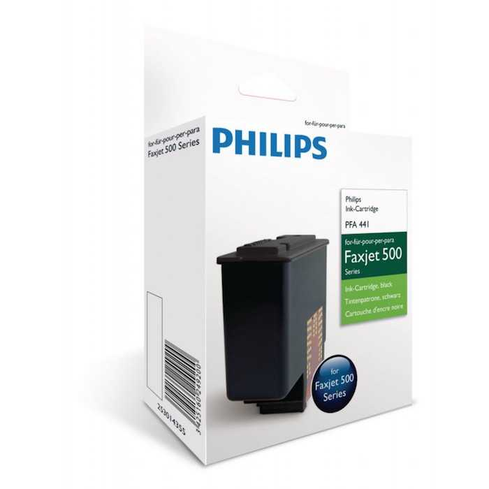Cartucho Tinta Original Philips PFA-441 / 253014355 Negro