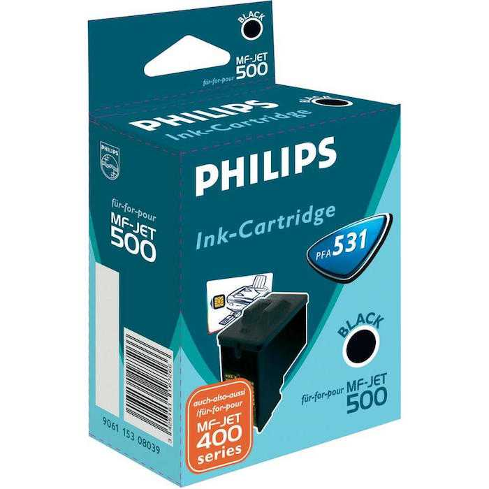 Cartucho Tinta Original Philips PFA-531 / 906115308039 Negro