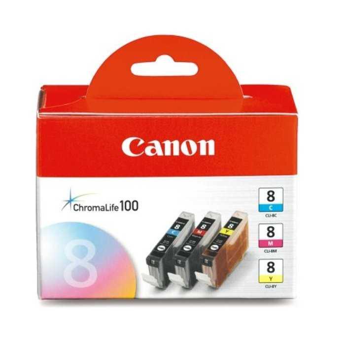 Pack 3 Cartucho Original Canon CLI-8