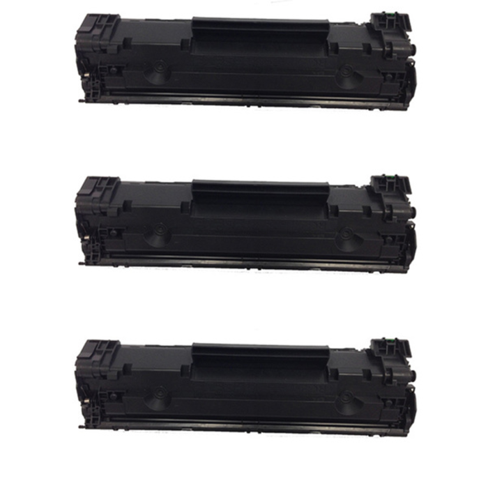 Pack 3 Toner Compatible Hp CF283A / 83A