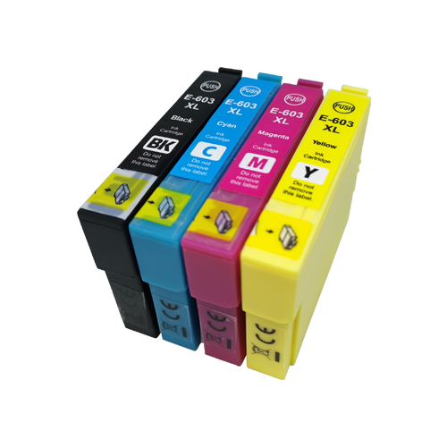 Cartucho Tinta Compatible Epson 603 XL Pack 4 Colores